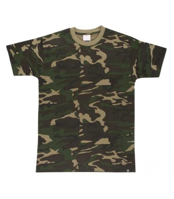 Camiseta camuflaje para caza serie 506