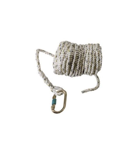 Cuerda en poliamida torcida de Ø14mm y 10m. longitud