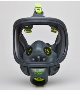 Máscara facial completa con visor de policarbonato
