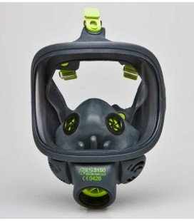 Máscara facial completa con visor de cristal - Compra online en Prosegtar