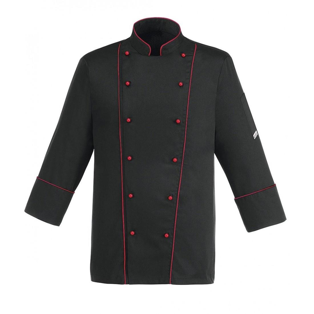 Chaqueta cocina black profile