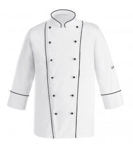 Chaqueta cocina white profile