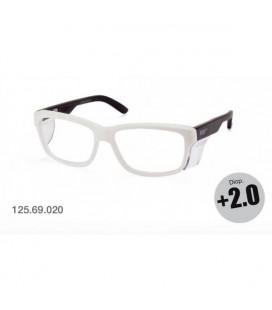 Gafas de seguridad graduadas +2.0