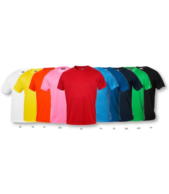 Camiseta básica manga corta caballero ICE-T