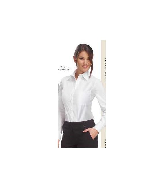 Camisa camarera blanca MARTA