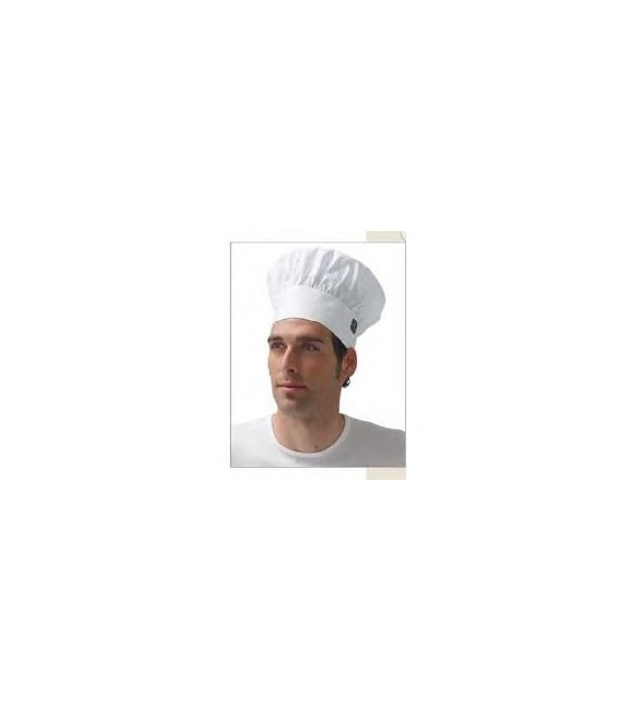 Gorro cocina chef blanco JACK