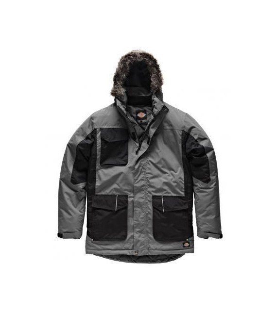 Abrigo/Parka cortavientos impermable TWO TONE