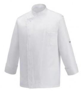 Casaca de cocina Egochef manga larga WHITE OTTAVIO - Compra online en Prosegtar