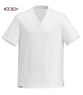 Casaca cocinero modelo Cool White 5501001A