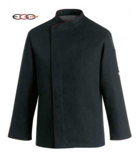 Chaqueta cocina modelo Black Comfort