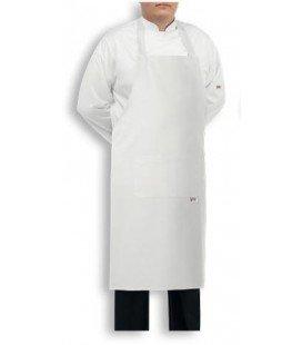 Delantal de cocina extra grande BIG blanco - Compra online en Prosegtar