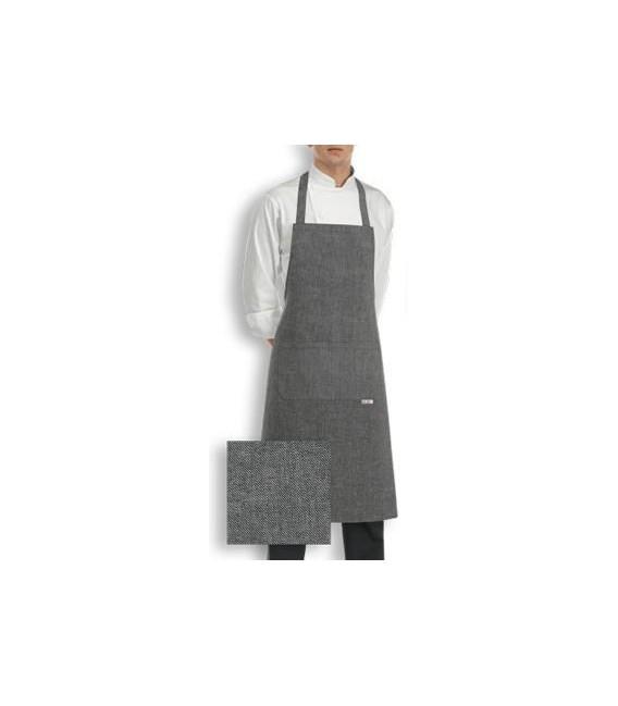 Delantal cocina peto modelo GREY MIX