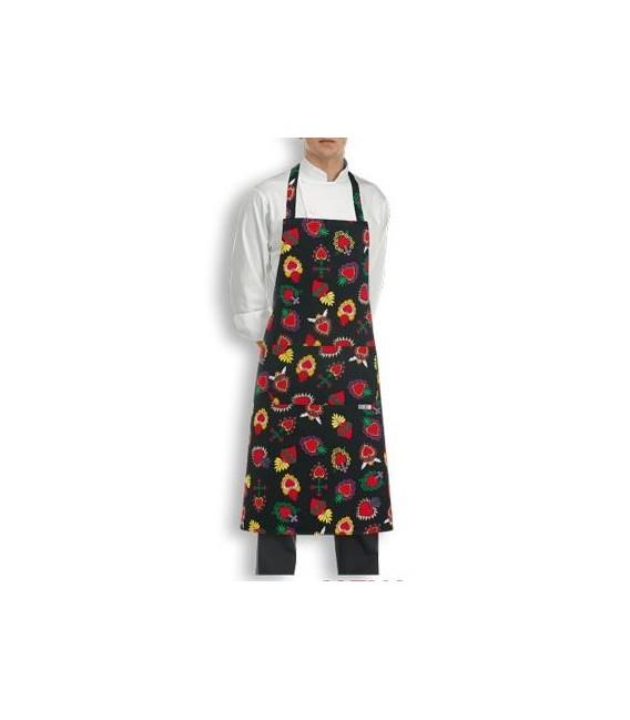 Delantal cocina peto modelo HEARTS