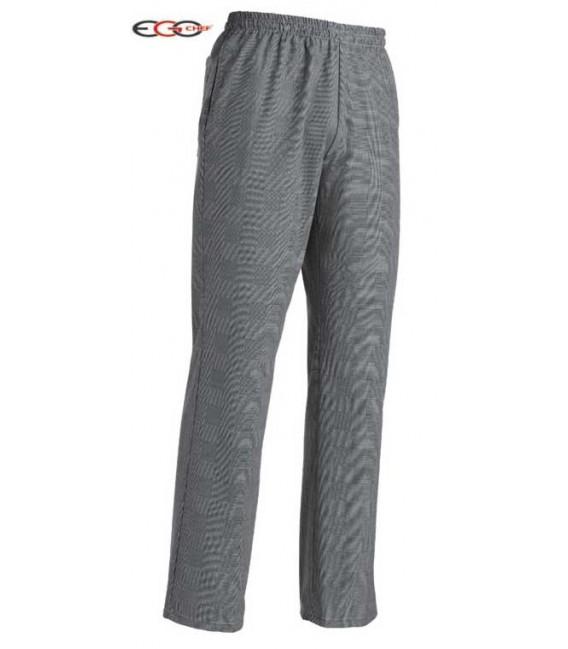 Pantalón cocinero gris
