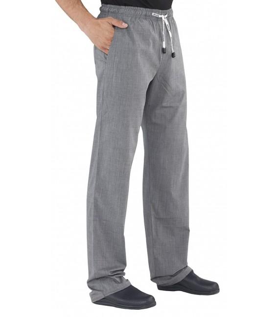 Pantalon con goma estampado