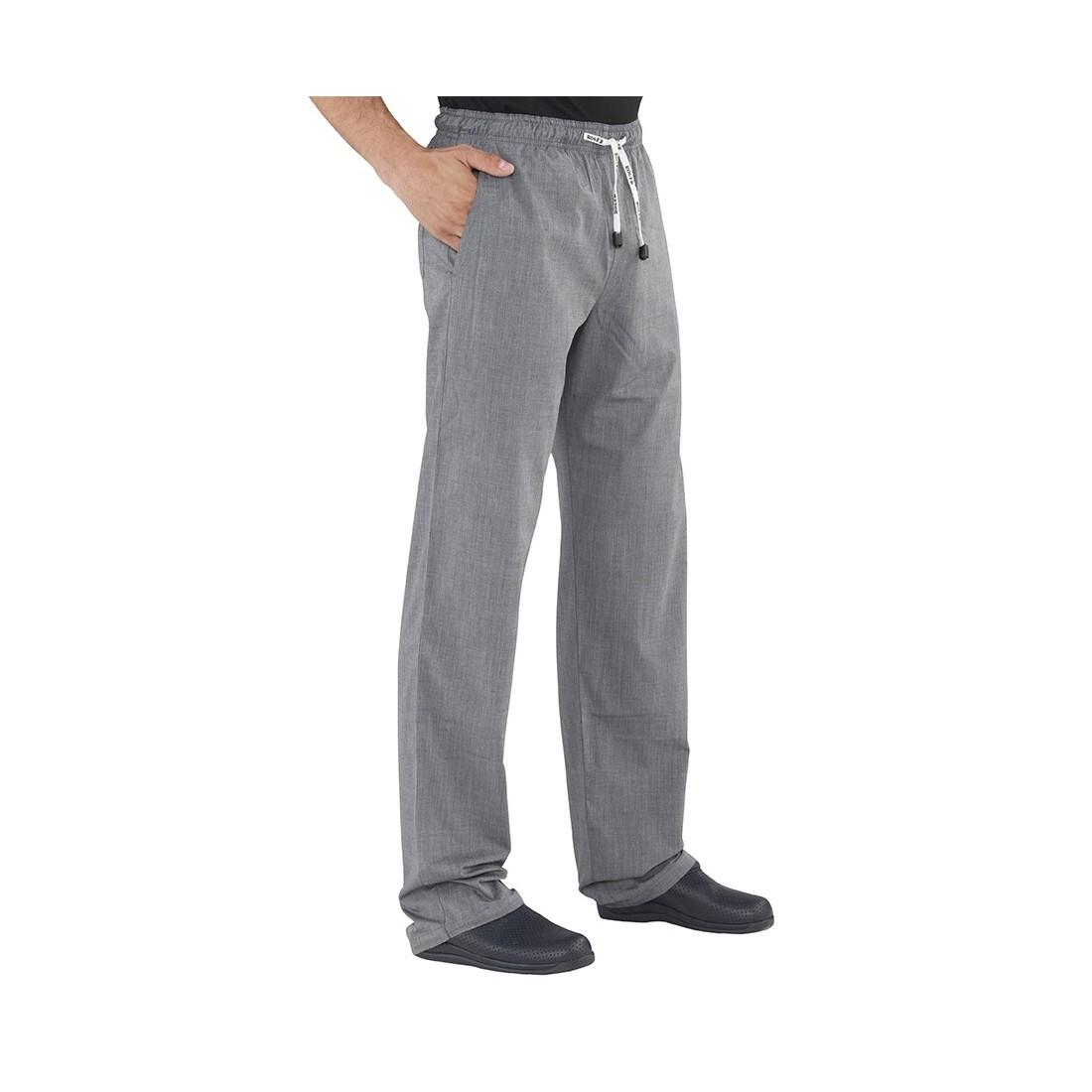 Pantalón con goma fil a fil