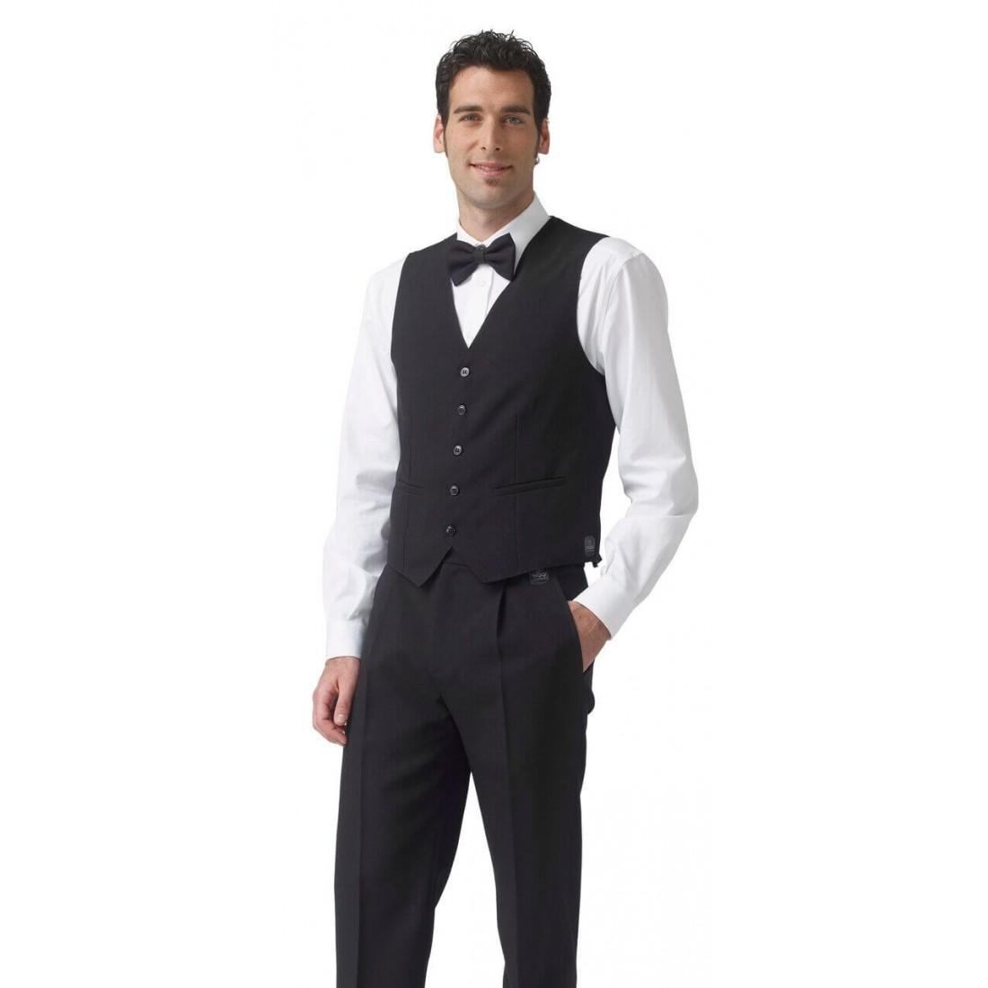 Chaleco camarero modelo Stefano