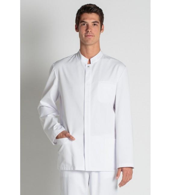 Comprar chaqueta sala caballero manga larga blanca