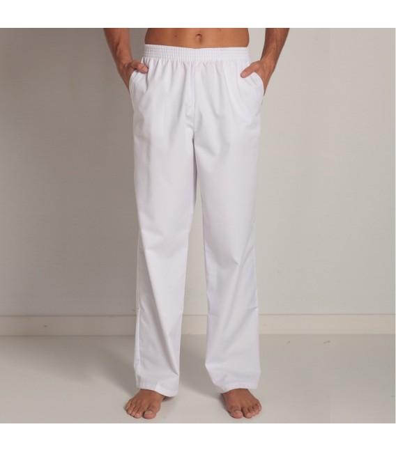Pantalon blanco unisex 9929
