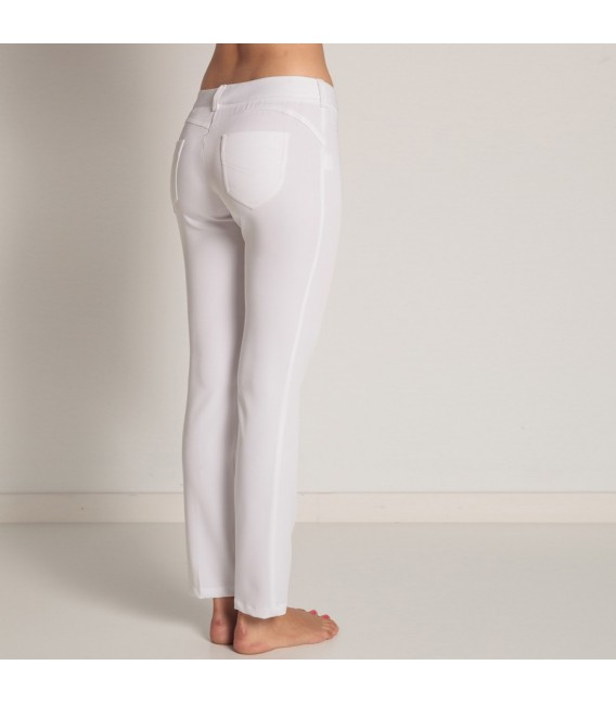 Pantalon blanco push up mod.8276-829