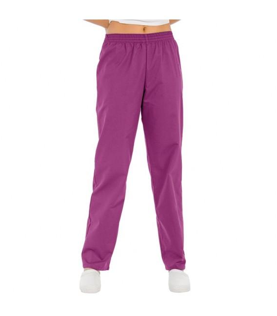 Pantalón clasico violeta unisex mod.8201-859