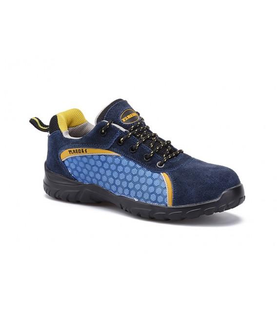Zapato deportivo de seguridad mod. Rubidio azul