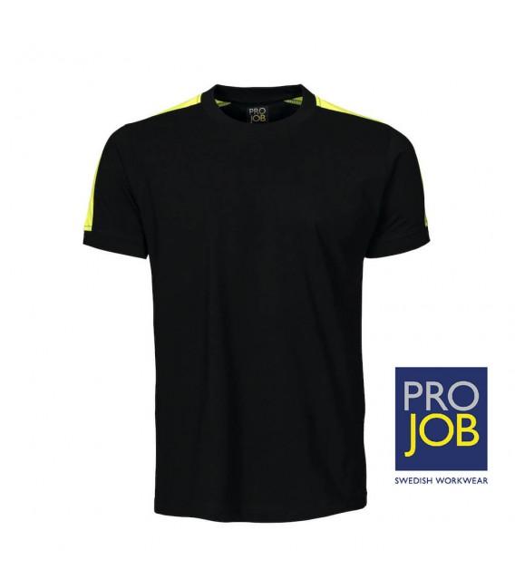 Camiseta de trabajo combinada alta visibilidad