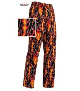 Pantalón cocina fuego 3502110A