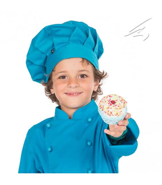 Gorro chef infantil de colores