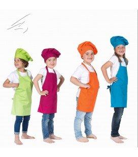 Delantal Francés infantil de cocina para niño