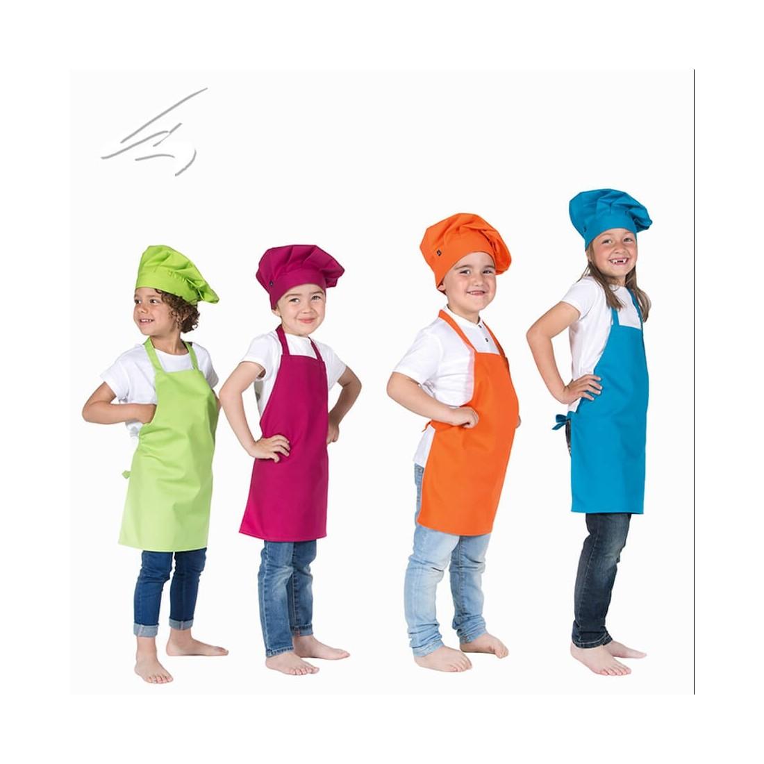 Delantal Francés con cortes de colores