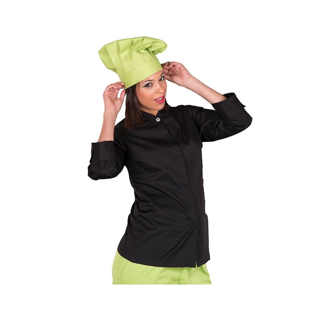 Chaqueta de cocinera manga larga