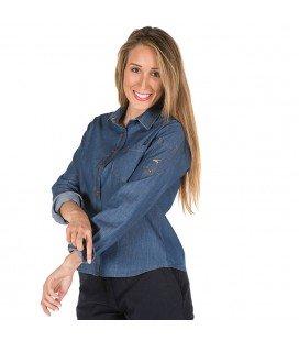 Camisa sala hostelería tejana mujer - Compra online en Prosegtar