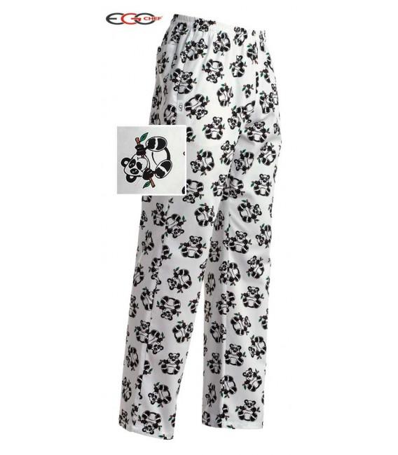 Pantalón cocina oso panda
