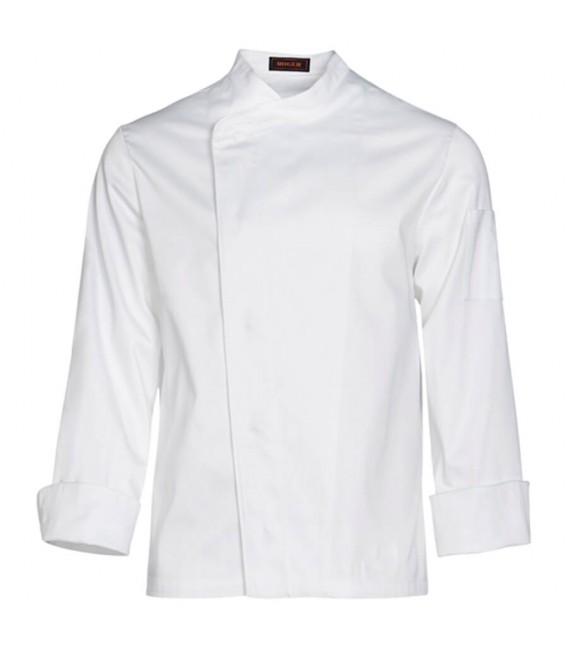 Chaqueta de cocina caballero manga larga