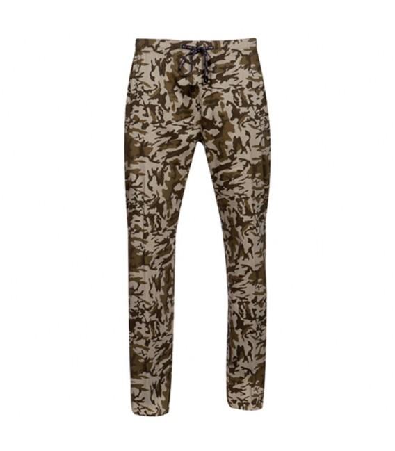 Pantalón de cocina goma tipo slim fit estilo camuflaje
