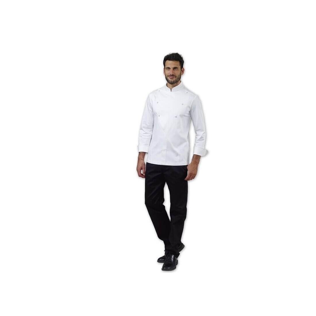Chaqueta de cocinero blanca modelo Lanny