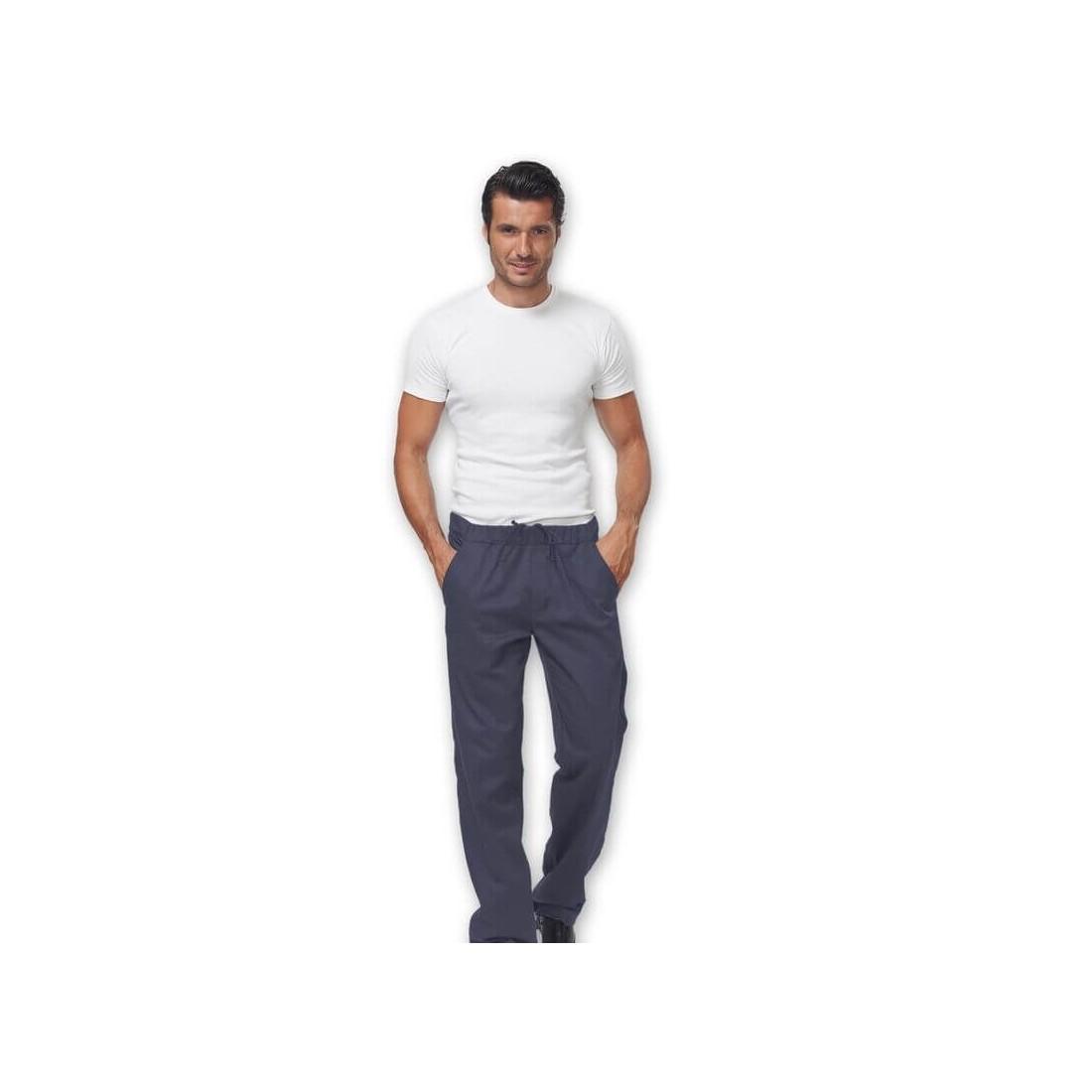 Pantalón de cocina elástico modelo JOSH