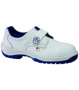 Zapato de seguridad blanco vincap modelo Omega