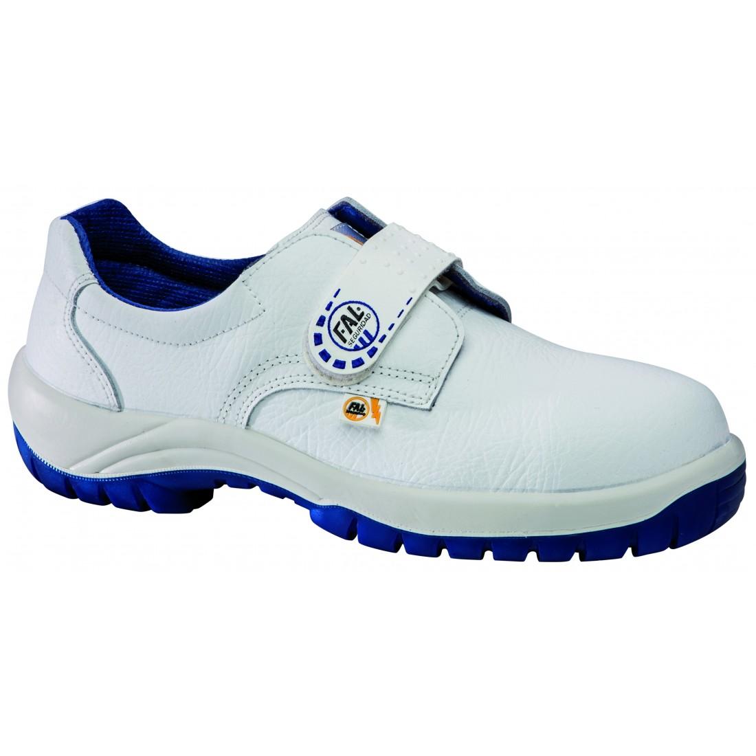 Zapato de seguridad blanco modelo Omega