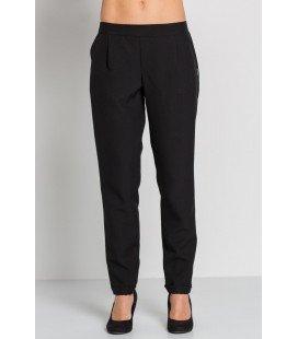 Pantalón negro con dobladillo - Compra online en Prosegtar
