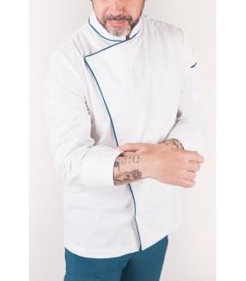 Chaqueta de cocinero elegante modelo Alan