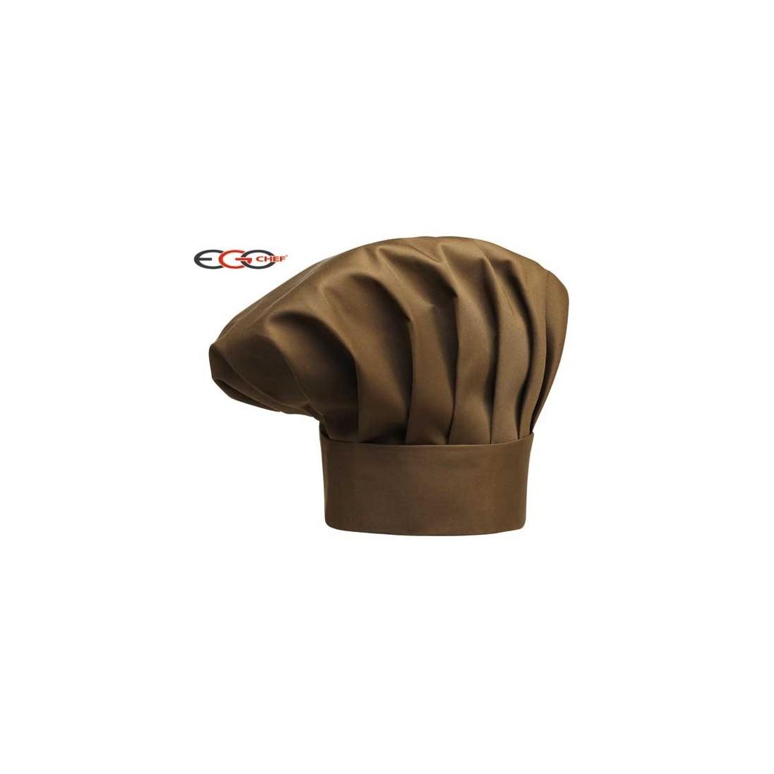 Gorros cocina champiñón marrón