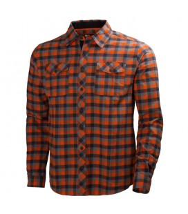 Camisa de trabajo de franela