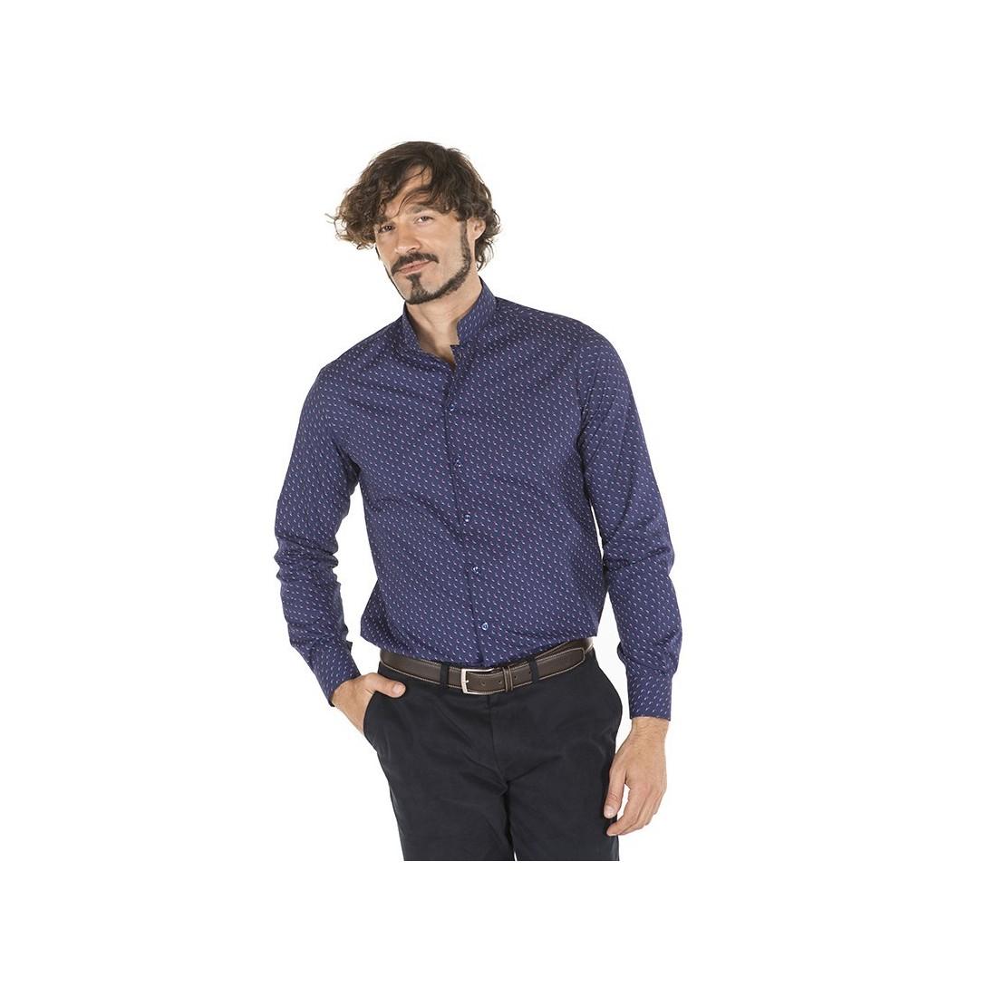 Camisa de trabajo para caballero modelo Fiore Gaviotas