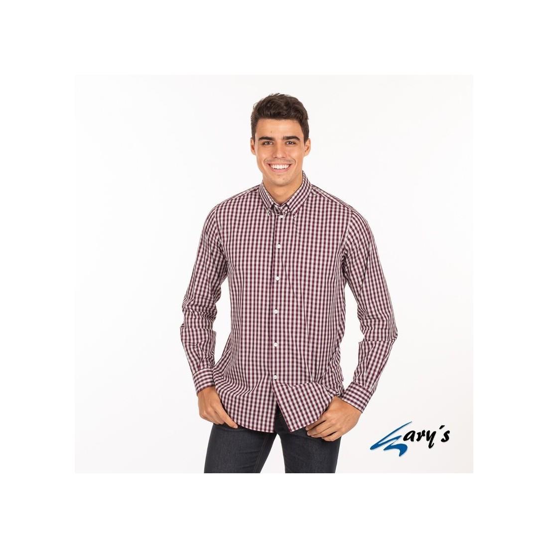 Camisa para hombre dos colores