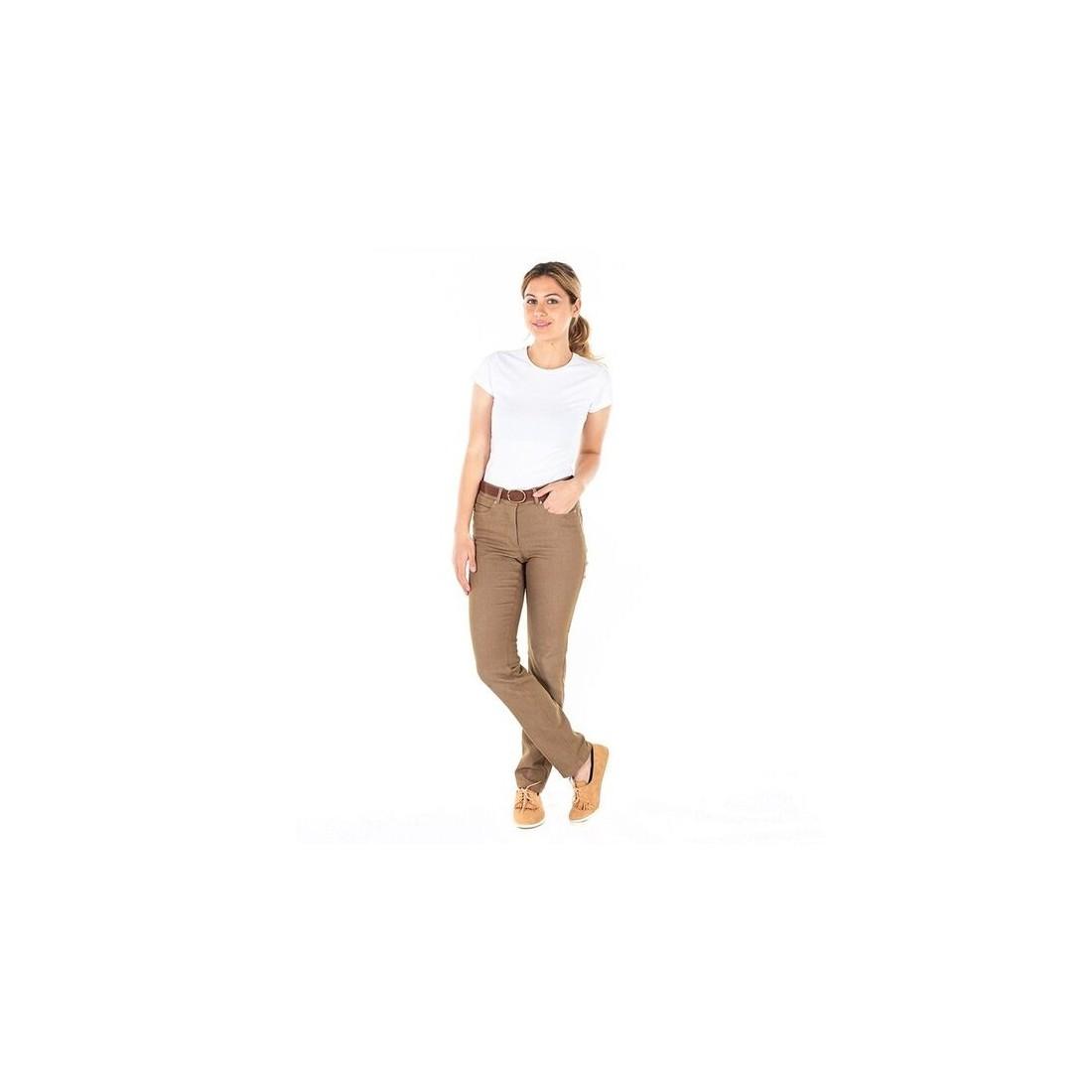 Pantalón vaquero de trabajo para mujer