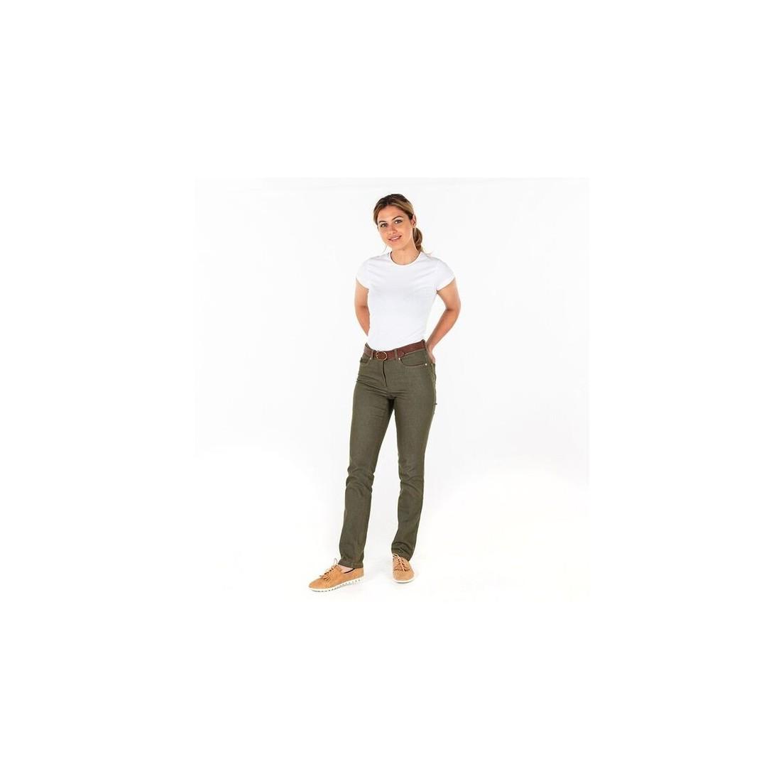 Pantalón vaquero talle medio chica