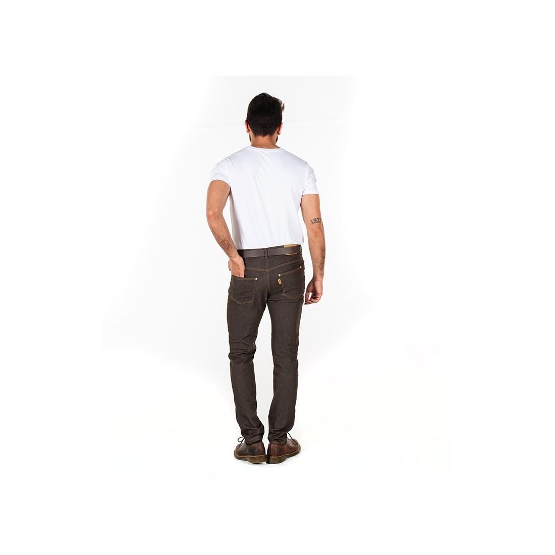 Pantalón tejano elástico de trabajo