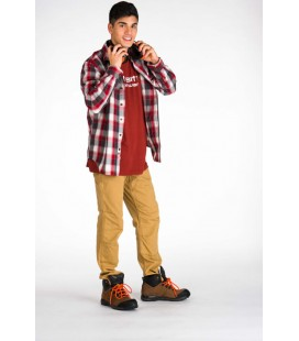 Camisa slim fit plaid Carhartt